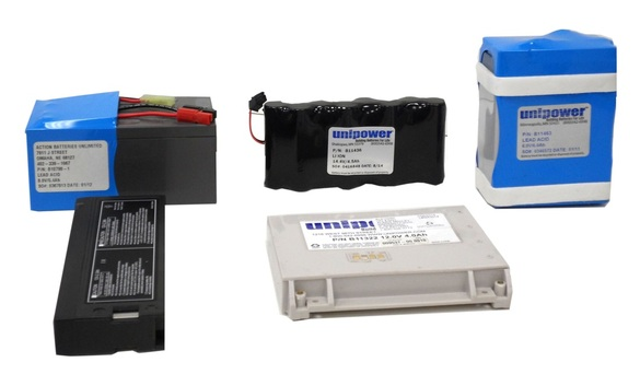 MEDICAL EQUIPMENT BATTERIES